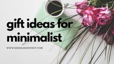 Minimalist PH 101: Gift ideas for minimalist