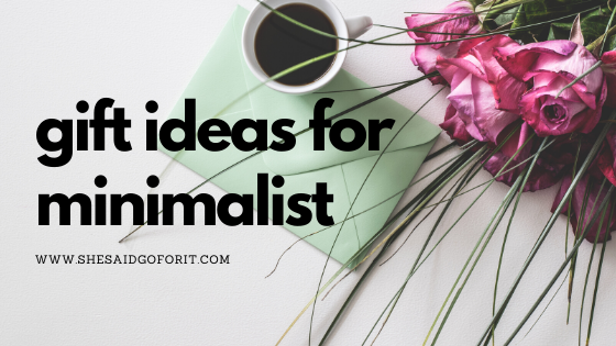This is your gift-guide for every minimalist.