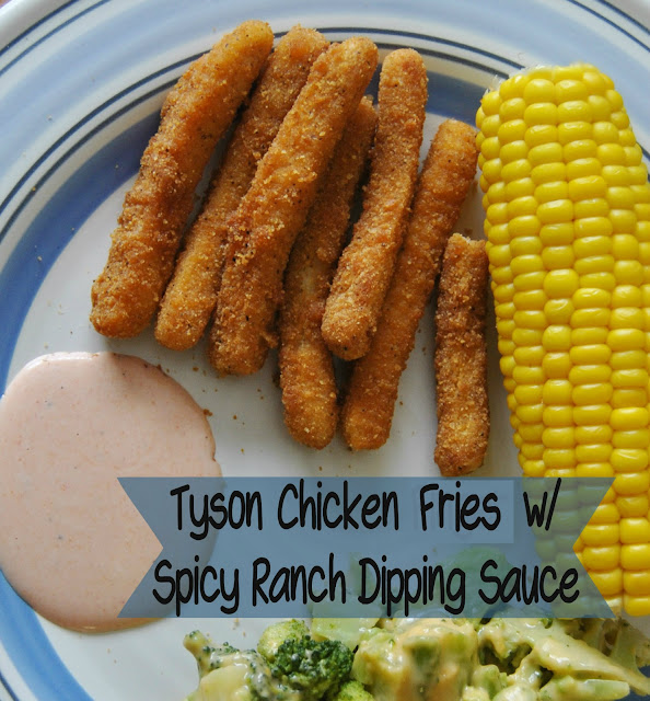Tyson chicken fries nutrition