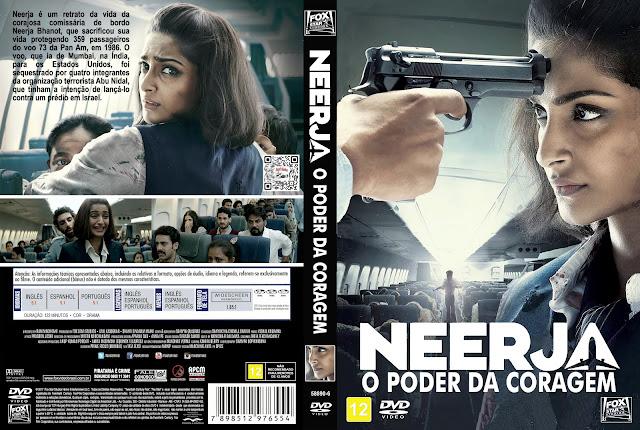 Capa DVD Neerja O Poder da Coragem [Custom]
