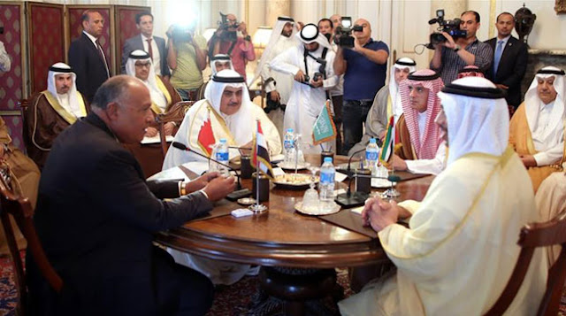 The-Saudi-alliance-announces-new-measures-against-Qatar