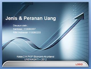 Contoh Power Point Jenis dan Peranan Uang | FKIP Ekonomi ...