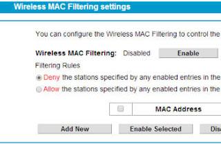 escludere dispositivi dalla rete wifi