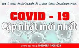 Thông tin dịch bệnh CoVid-19