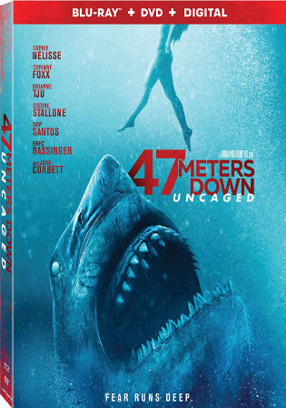 47 Meters Down Uncaged 2019 BluRay 700Mb Hindi Dual Audio 720p