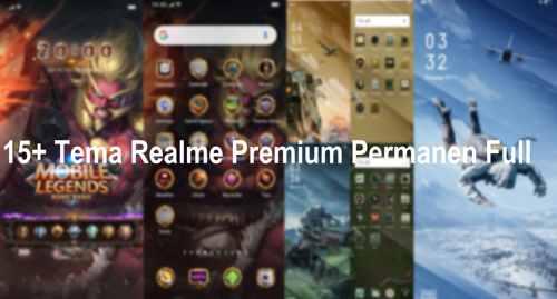 15+ Tema Oppo dan Realme Premium Permanen Full