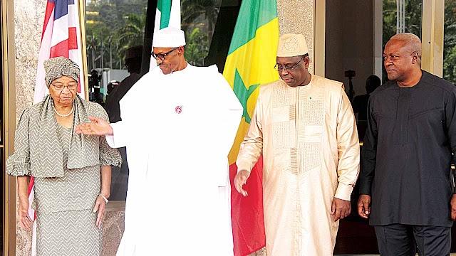 Nigeria's President Muhammadu Buhari  leads ECOWAS delegation to the Gambia tomorrow
