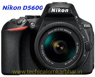Nikon D5600 DSLR Camera Price - Best DSLR camera Price in India