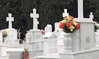 Χαλκίδα: Ξεψύχησε μέσα στο νεκροταφείο μπροστά στη σύζυγο και την πεθερά του