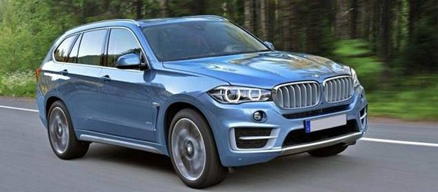 2018 BMW X7 SUV Crossover Specs, Price, Review, Release Date