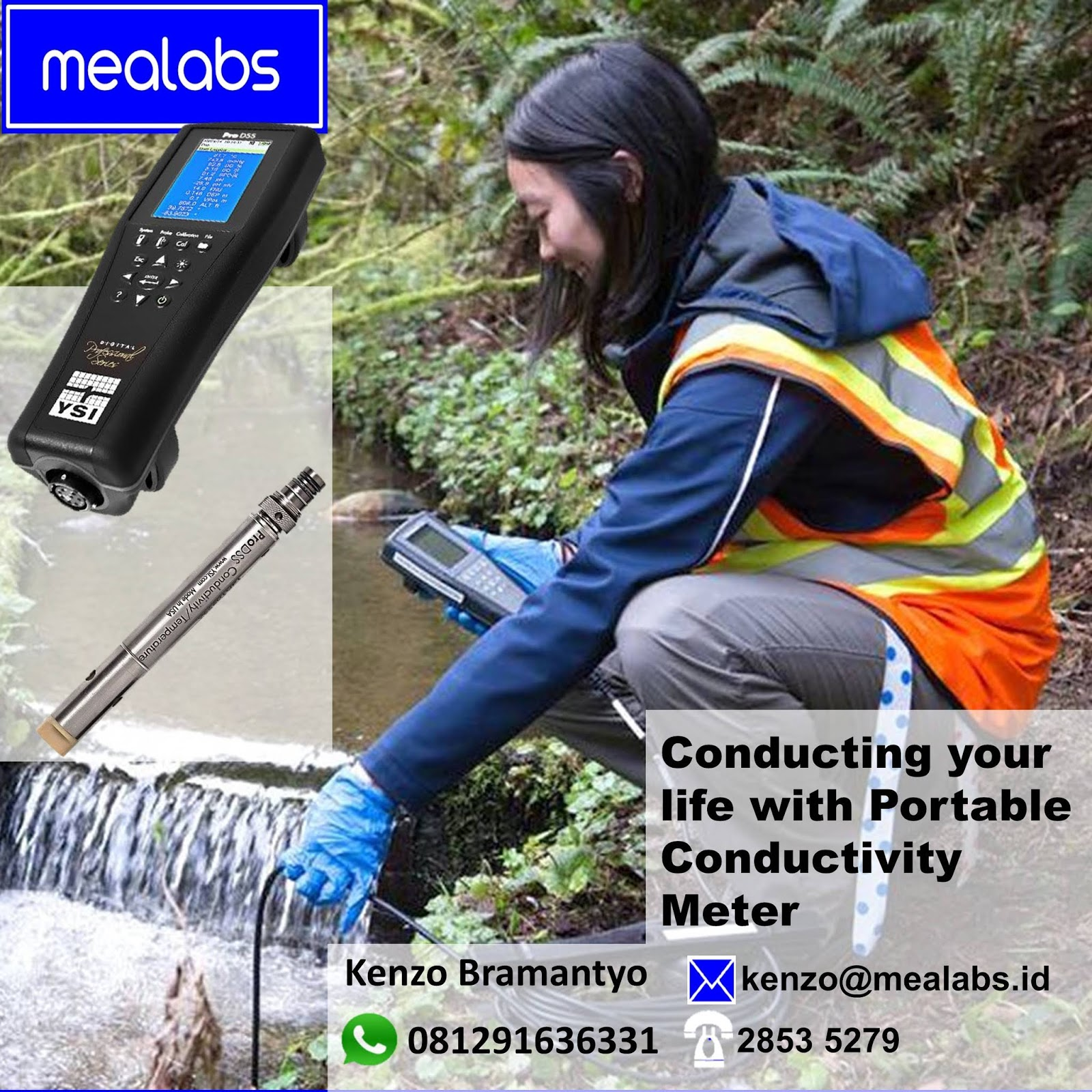 Jual Dissolved Oxygen, pH, ORP Meter