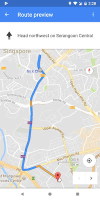 how to get to genting lane from Nex