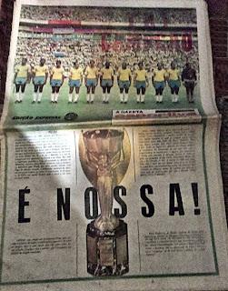 Taça Jules Rimet: posse definitiva do Brasil