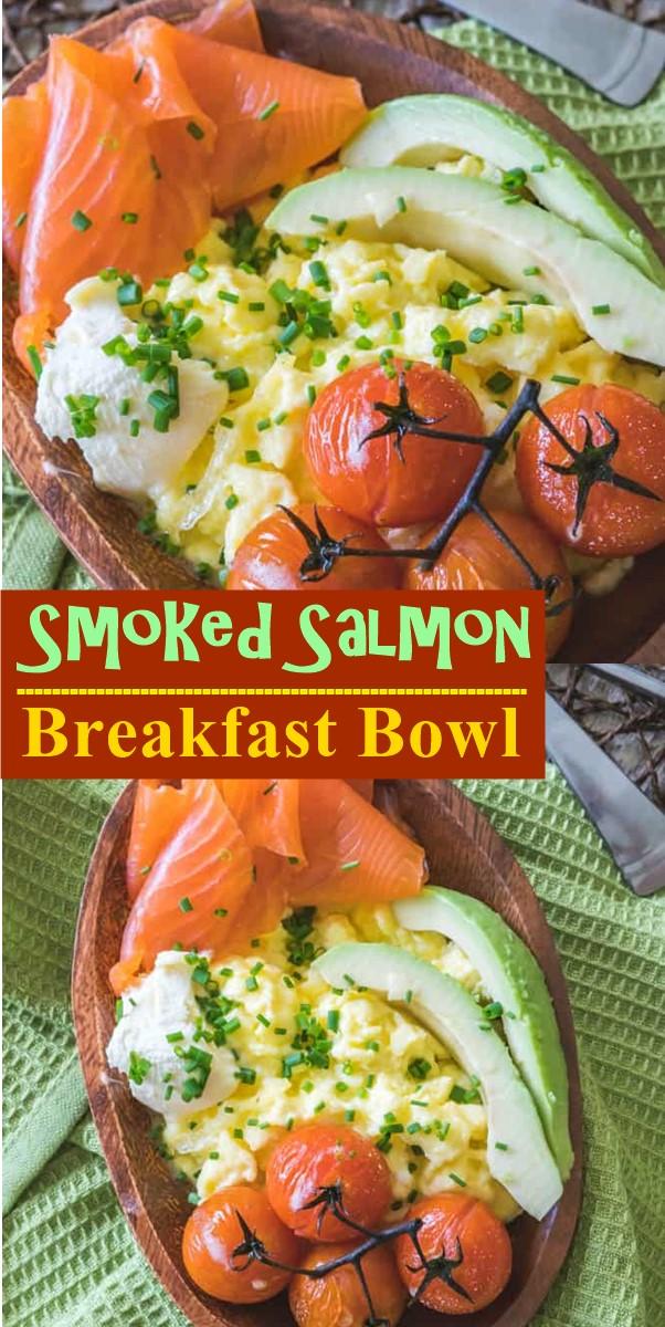 Smoked Salmon Breakfast Bowl #breakfastideas