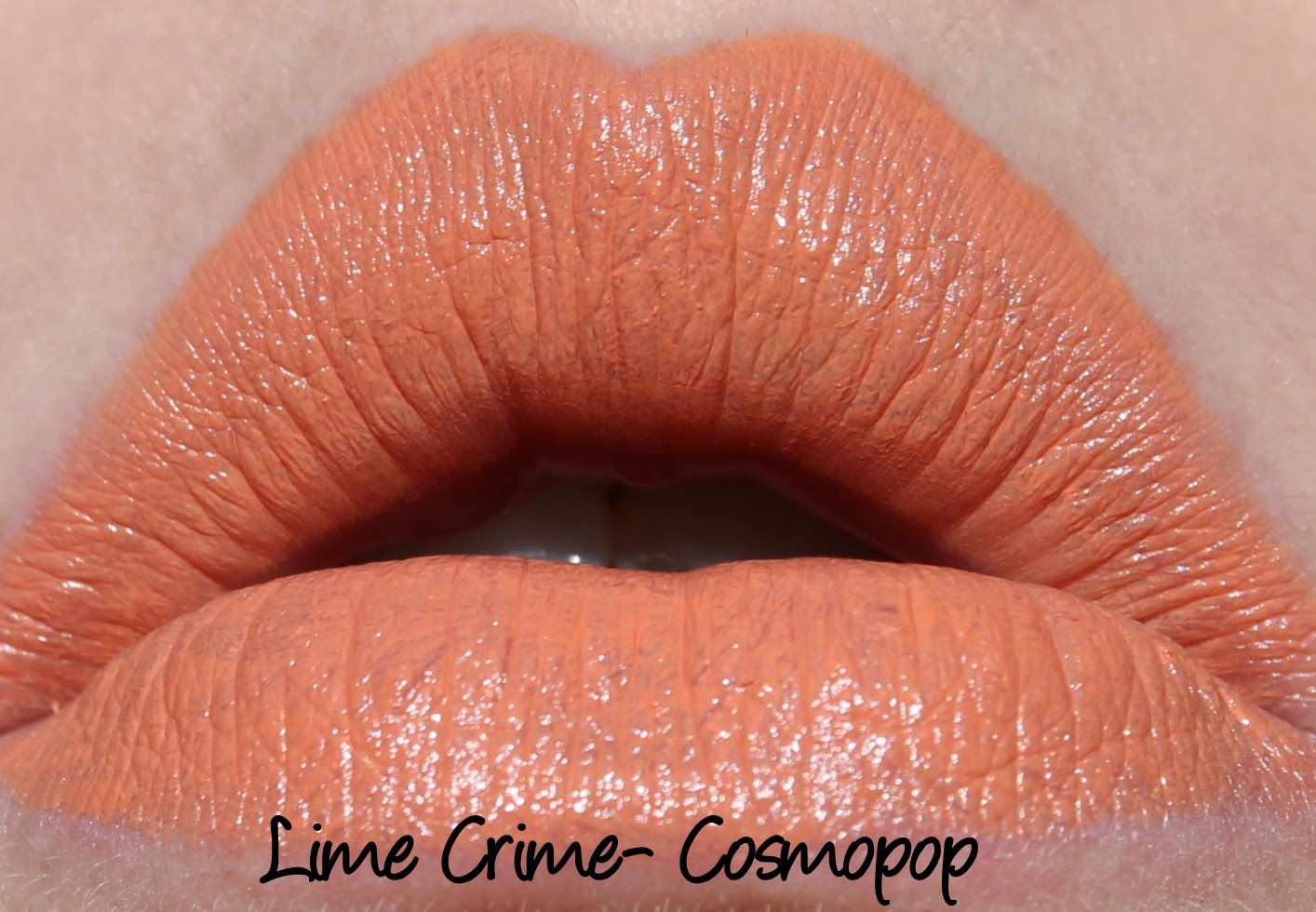Lime Crime Cosmopop Lipstick Swatch
