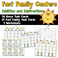 Fact Family Centers  Addition and Subtraction