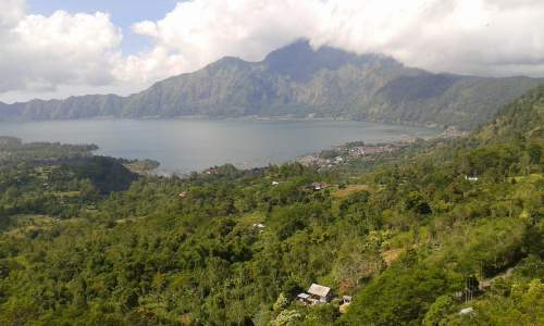 Batur Lake View at Kintamani
