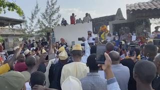 Les commerçants soutiennent le mouvement Mabedja
