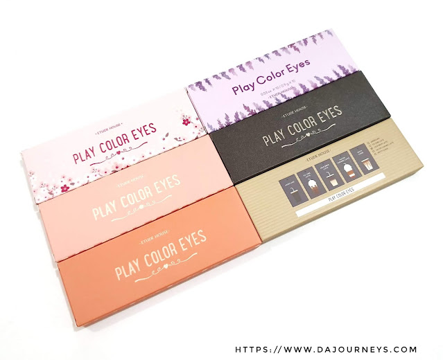 Review Etude House Play Color Eyes Palette