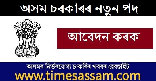 DHE Assam Job 2020