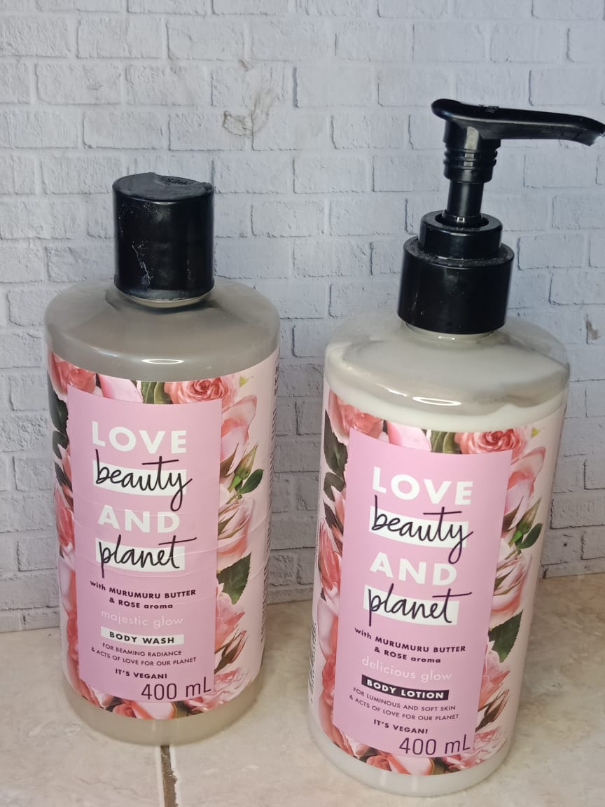 Love Beauty And Planet Murumuru butter and rose