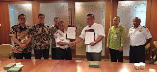 Freeport Indonesia  Serahkan Asset Ke UPP Pomako