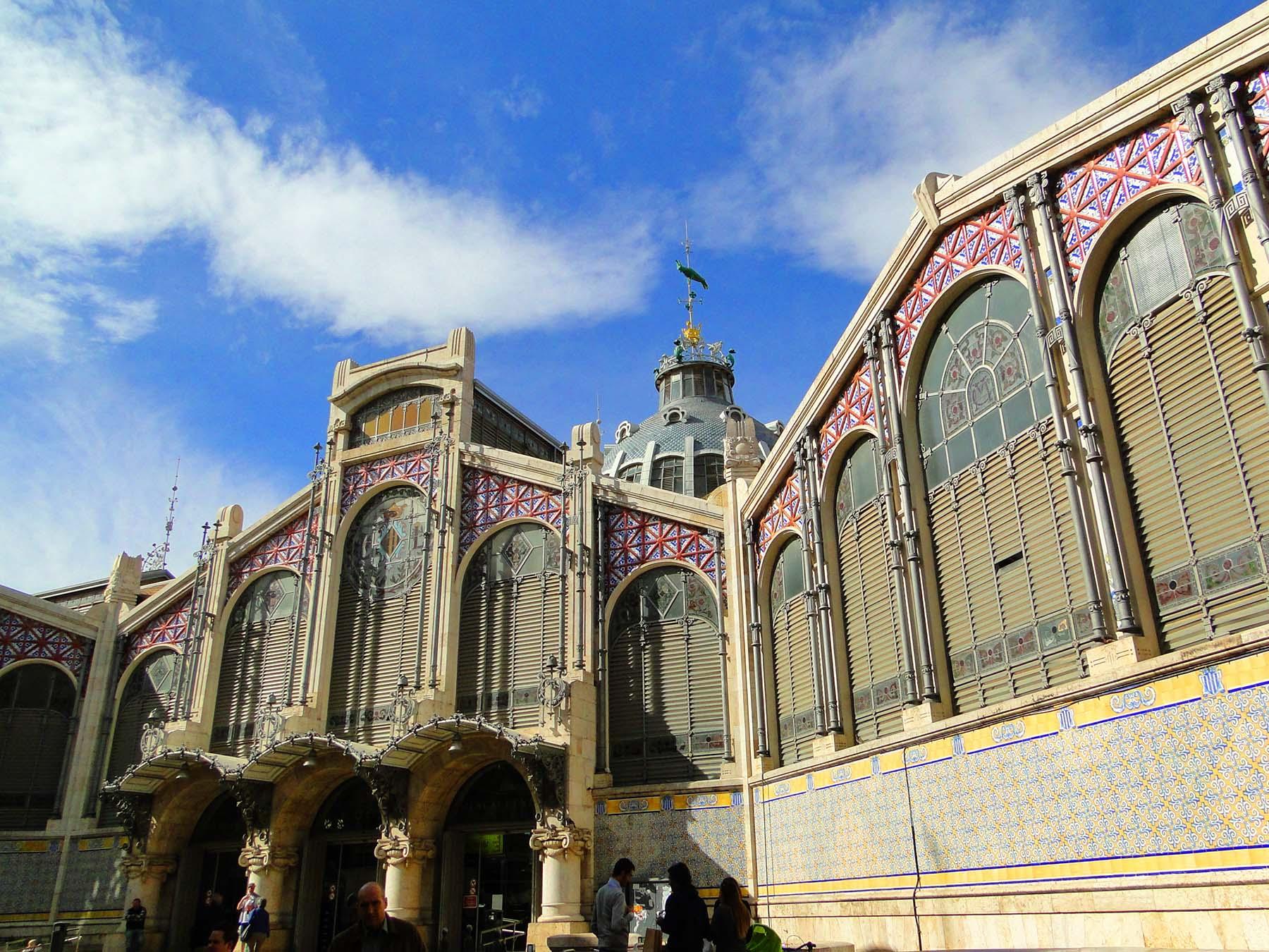 Mercado Central de Valencia, Espanha