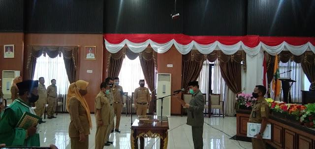 Sekda Lantik 3 Pejabat Pengawas Lingkup Pemkab Sinjai