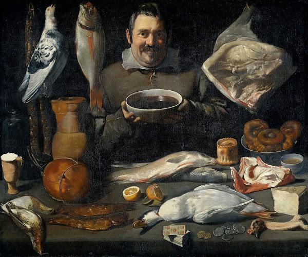 Диего Веласкес - Торговец (1625)
