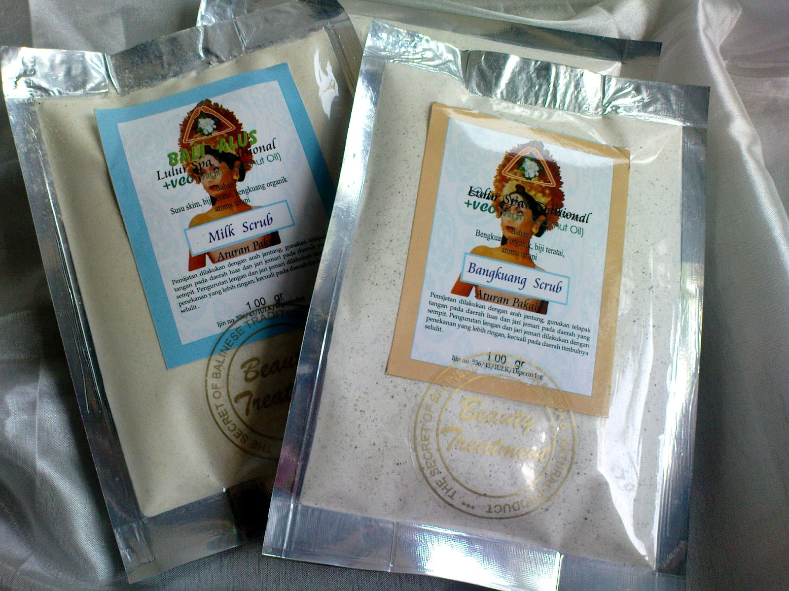 Lulur Cream Bali Alus Scrub With Vco Julia Outlet For Spa 100gr Boreh Bubuk Traditional