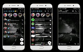 Night Road Theme For YOWhatsApp & Fouad WhatsApp By Leidiane