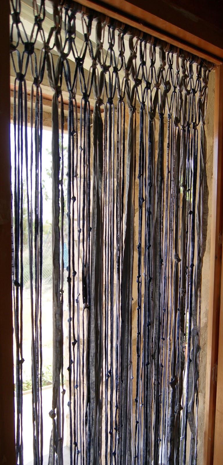 Rebuscando en el ba l cortina de trapillo for Enganches cortinas