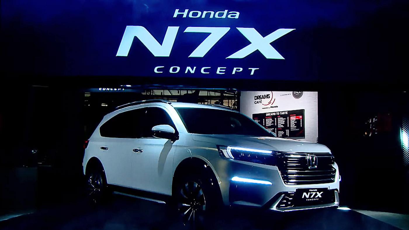 Honda N7X Concept akan 'diarak' ke beberapa kota di Indonesia