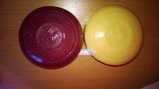Rote seife ist Spatburgunder und die Helle Gelbliche ist Riesling