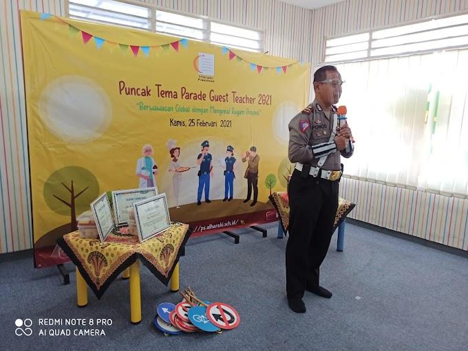 Satlantas Polrestro Depok Kenalkan Tugas dan Profesi Polisi Ke Siswa TK