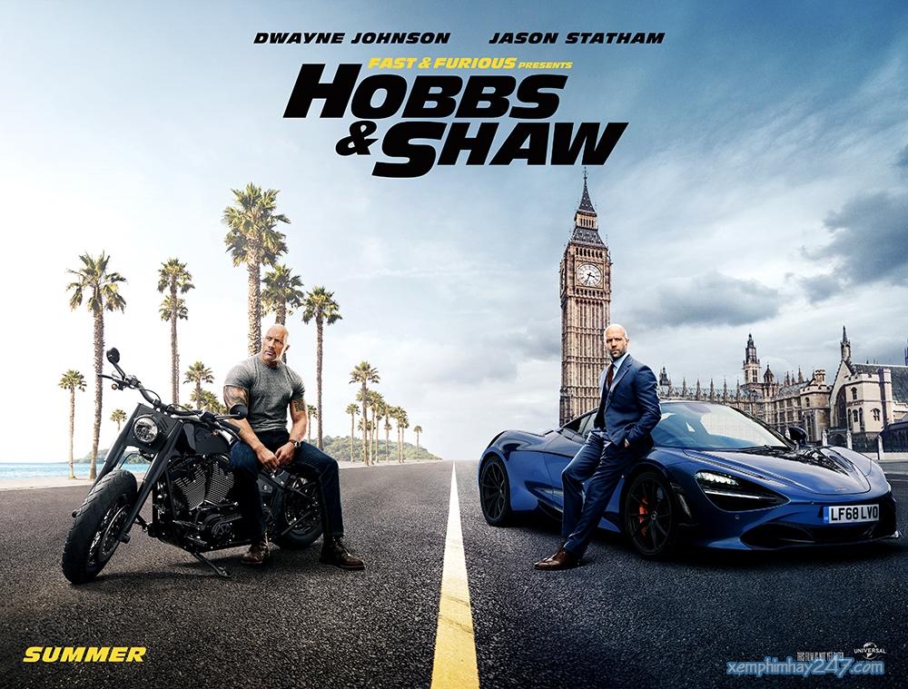 http://xemphimhay247.com - Xem phim hay 247 - Quá Nhanh Quá Nguy Hiểm 9 (2019) - Fast And Furious Presents: Hobbs & Shaw (2019)