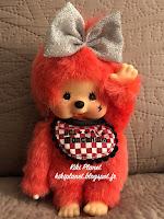 Monchhichi X JOL Vivichhichi Red Girl 258290
