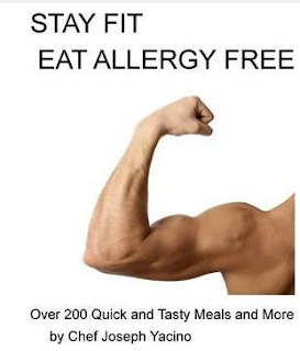 Cookbook for eating gluten and dairy free - allergy free cooking