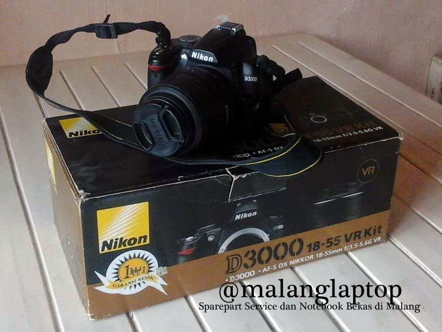 Kamera DSLR Nikon Fullset