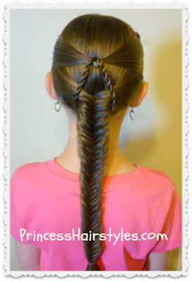 """Suspended Fishtail Braid"" Tutorial"