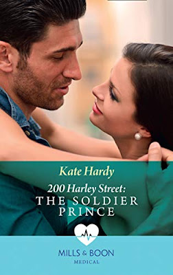 The Soldier Prince by Kate Hardy 200 Harley Street Mills & Boon Medical romance book cover