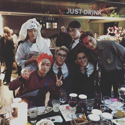 [PANN] SM'in Cadılar Bayramı partilerinden fotoğraflar