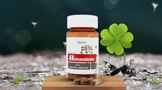 Thực phẩm bảo vệ sức khoẻ hỗ trợ hoạt huyết, dưỡng não Bonaobido