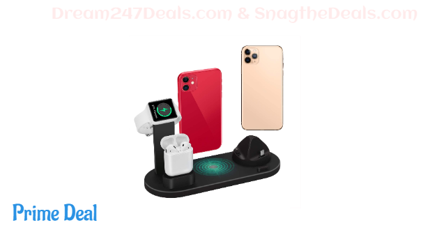 Wireless Charger 4 in 1 50% OFF
