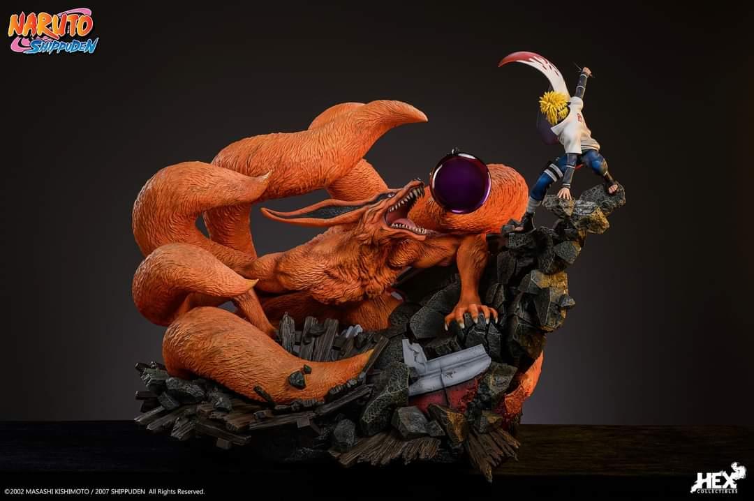 Naruto Shippuden - Minato Namikaze Vs Kurama 1/8 (HEX Collectibles)