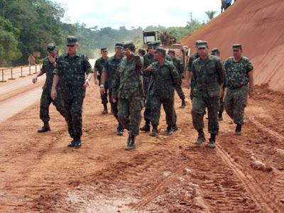 Exército brasileiro eu amo lages