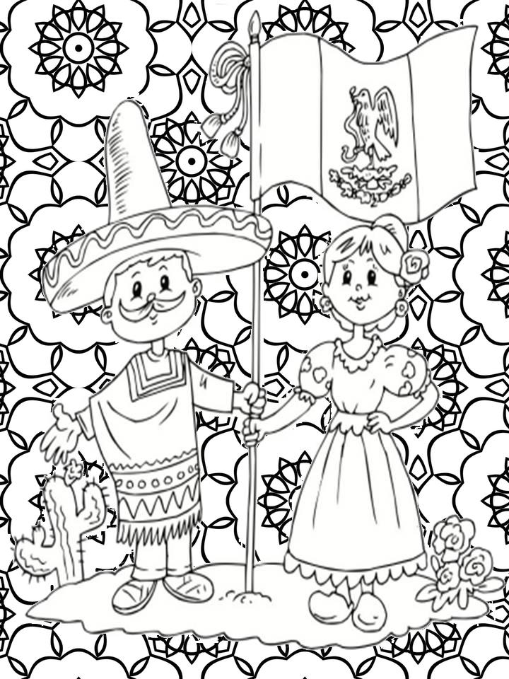Pinto Dibujos Mandalas De La Revolucin Mexicana Para