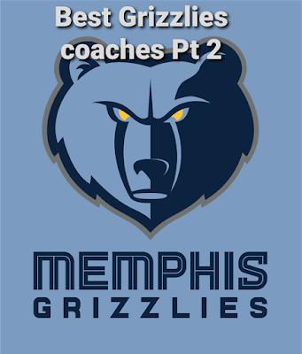 memphis grizzlies coach history