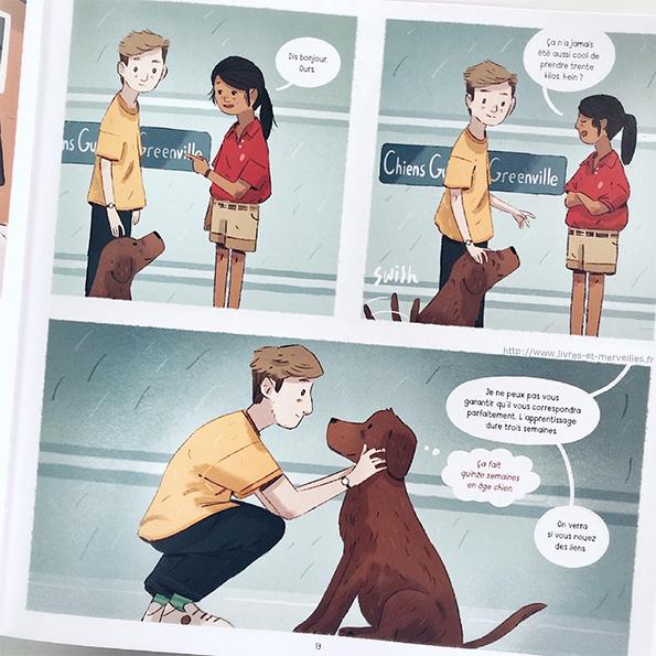 Bd jeunesse :  Ours Illustrée par Joe Todd-Stanton