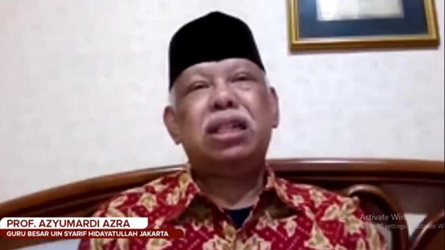 Azyumardi Kritik Jokowi: Jangan Pindahkan Tanggung Jawab Negara ke Komnas HAM, Bikin Jengkel
